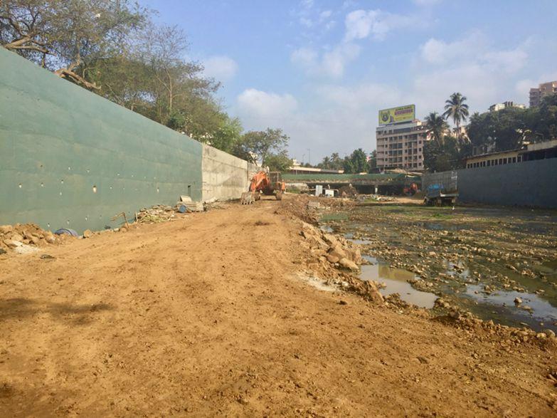 Figure 1: River restoration project in Mumbai