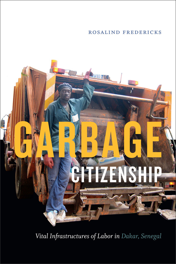 Garbage Citizenship book cover