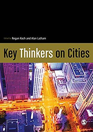 Key Thinkers on Cities book cover