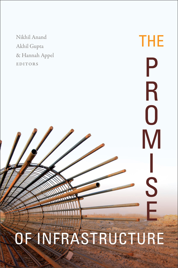 Promise of Infrastructure book cover