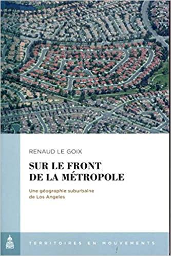 Sur le front de la métropole book cover