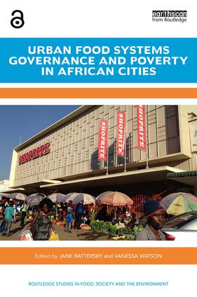 Urban Food Systems Governance book cover